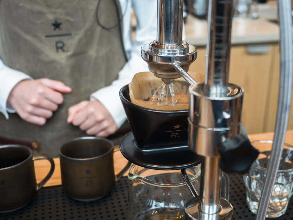 Now The Talk Of Town Starbucks Brings A Massive Roastery To
