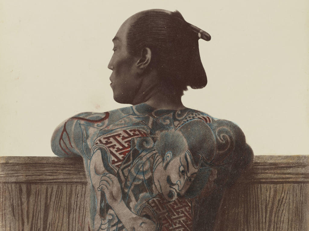 Colour Photos Of Yakuza Tattoos From The Meiji Period Pen Magazine International The yakuza tattoo dates back to the 17th century japan where the underclassmen that were involved in different crimes started forming gangs. pen magazine international