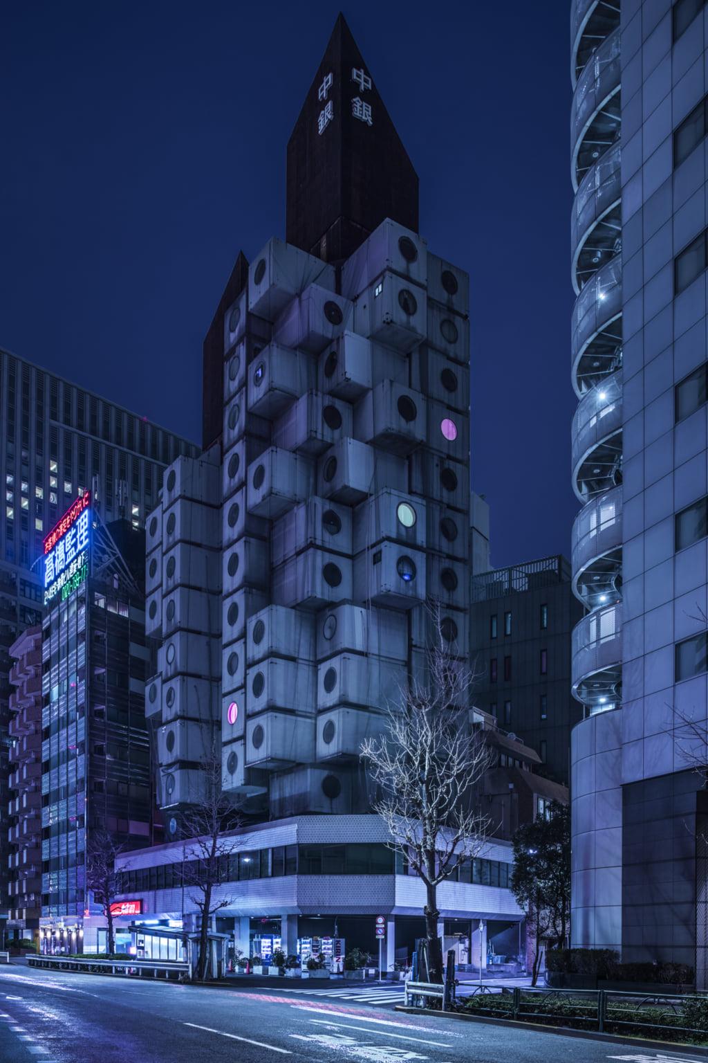 """""""Nihon Noir 2099"""", l'architecture brutaliste façon cyberpunk"""